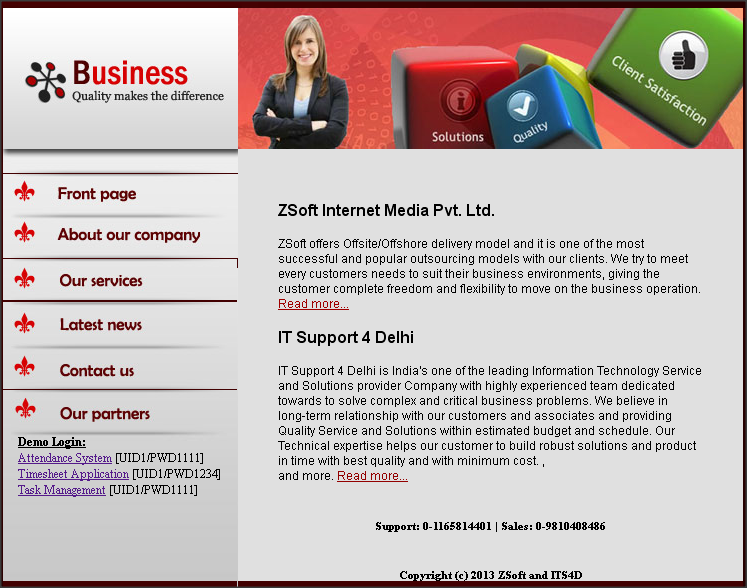 ZSoft and IT Support 4 Delhi Product